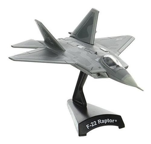 avión  de metal fundido historico f-22 raptor  buho store