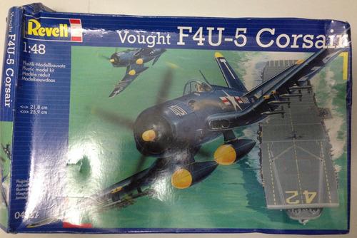 avión f4u-5 corsair ii guerra mundial modelo a escala 1:48