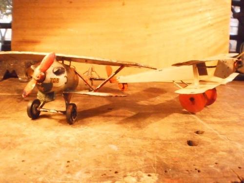 avion hojalata  avioneta piper cesna
