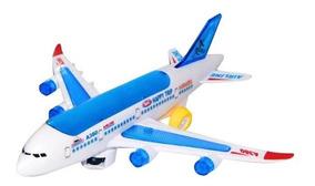 A380 Juguete Movimiento Niños Avión Luces Con 60 Bebe Sonido 2HYWDIeE9