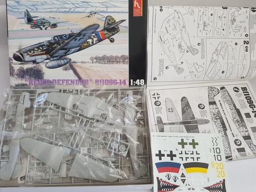 avion kit 1/48 bf 109 reich defender - en parana er