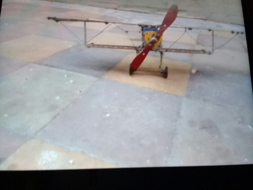 avión mecano año 60.
