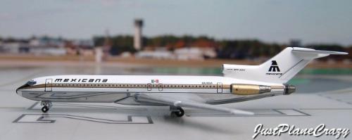 avión mexicana de aviación boeing 727 aeroméxico bfn