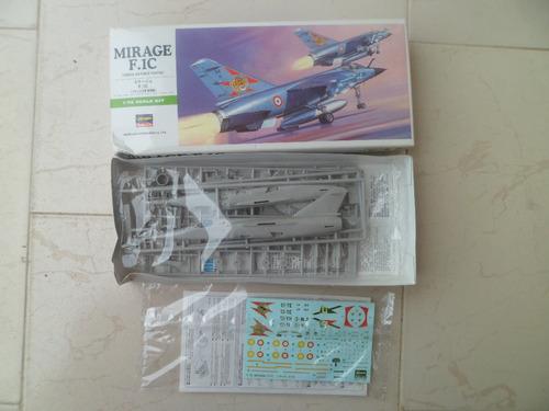 avion mirage f.1c  1/72 hasegawa