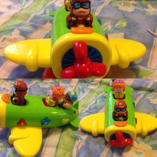 avión musical  para bebé