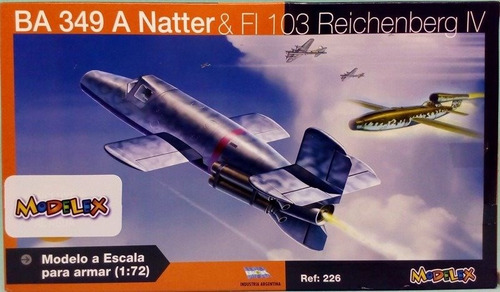 avion para armar ba 349 a natter & fi 103 reichenberg iv