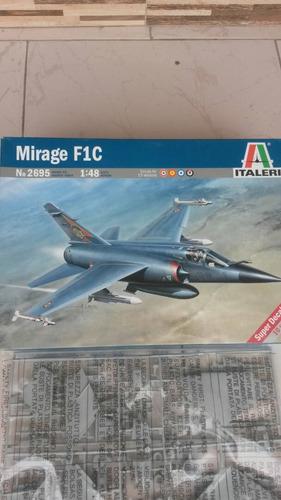 avión para armar mira f1-c   1/48 italeri