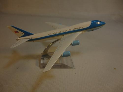 avion presidencial usa miniatura