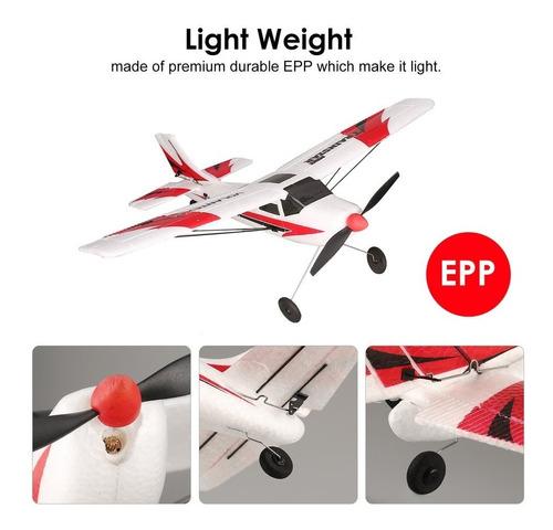 avion rc 3ch giroscopi para principiantes muy facil de volar