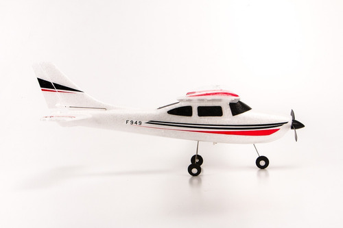 avión rc 3ch wltoys f949 completo muy fácil  para empezar