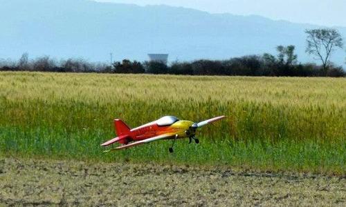 avion rc matrix de camodel 3d con motor os 90