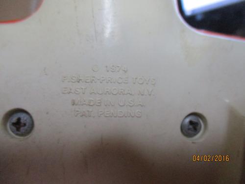 avion reliquia de 1974 fisher price