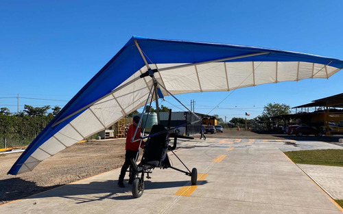 avión ultraligero trike con ala delta 12 mts motor rotax 503