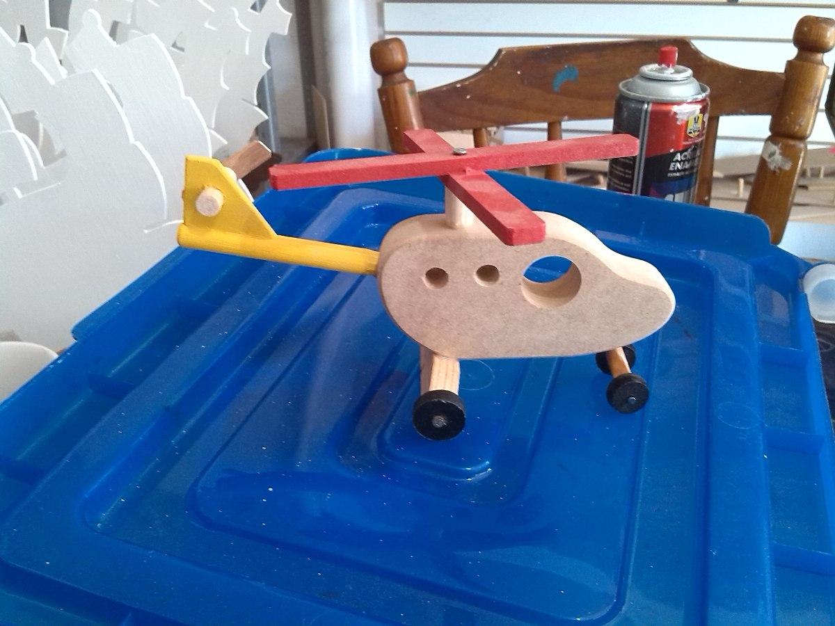 Aviones camiones juguetes de madera mdf cajas - Juguetes antiguos de madera ...