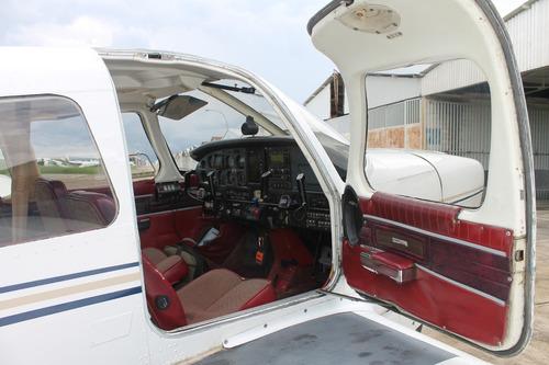 avioneta piper cherokee six 300 equivalente a cessna 206