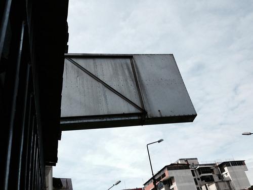 aviso caja de luz 2 x 1.21