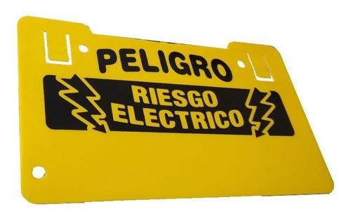 aviso letrero cerco electrico alta tension  voltaje