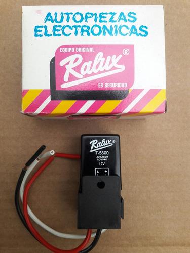 aviso luces encendidas marca ralux t - 5800 relee oferta