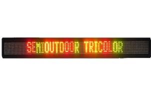 aviso luminoso led display tricolor
