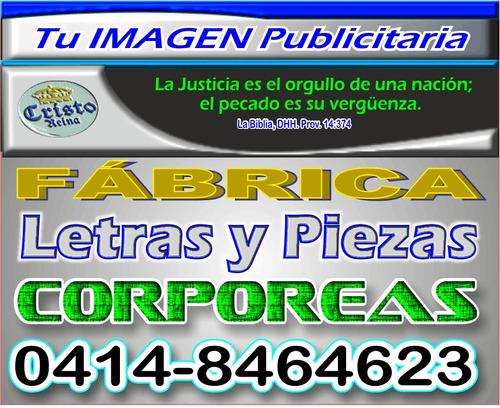 avisos acrilicos/ corporeos/ publicidad/ iluminación led.