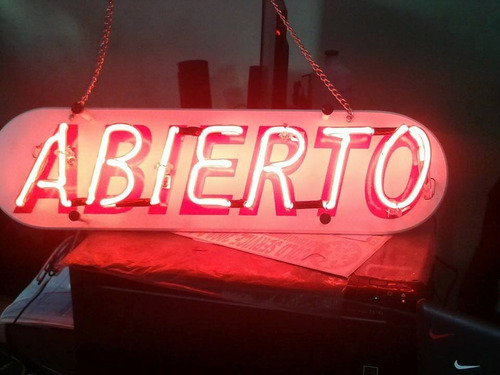 avisos de neon  ¡¡¡¡¡¡somos fabricante!!!!!