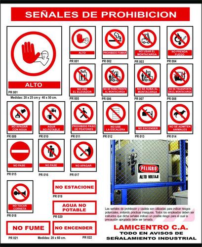 avisos de señalamiento industrial