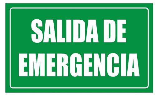 avisos o señalizaciones industriales seven 25x19cm