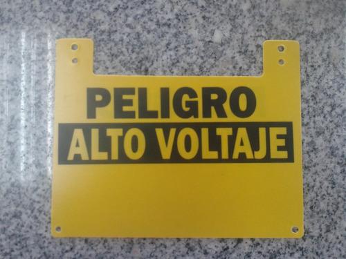 avisos para cerco eléctrico