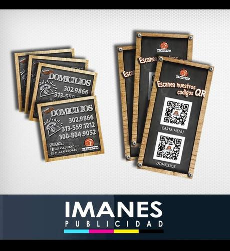 avisos, pendones, tarjetas, fotográfia y video