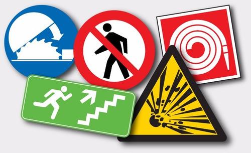 avisos y señalizaciones de seguridad industrial
