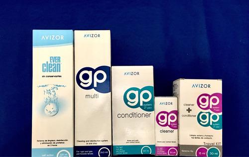 avizor gp multi solucion para lente de contacto rigido
