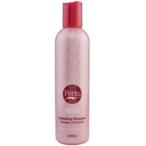 avlon ferm hydrating shampoo 250ml com frete