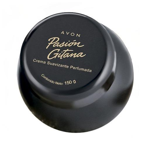 avon crema corporal perfumada pasión gitana 150g