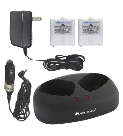 avp-6 midland - paquete de accesorios - baterias y cargador