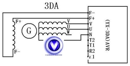 avr generador 3da trifasico, entrega inmediata.