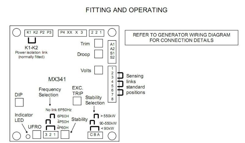 stamford mx341 wiring diagram - wiring diagram & schematics sx460 avr wiring diagram #4