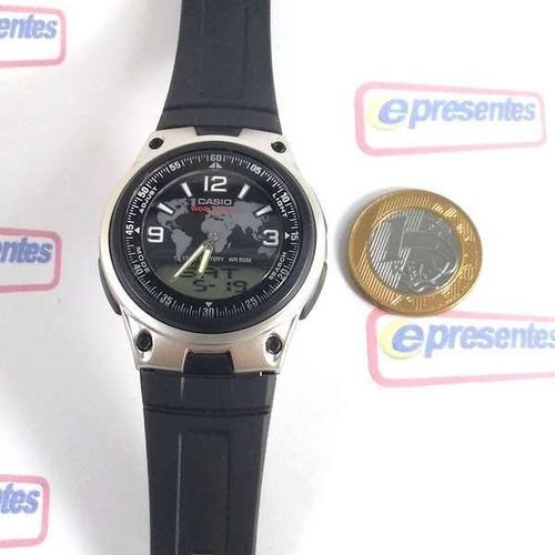 bdbba94e964 Aw-80-1a2v Relógio Casio Analógico Digital Agenda Telefonica - R ...