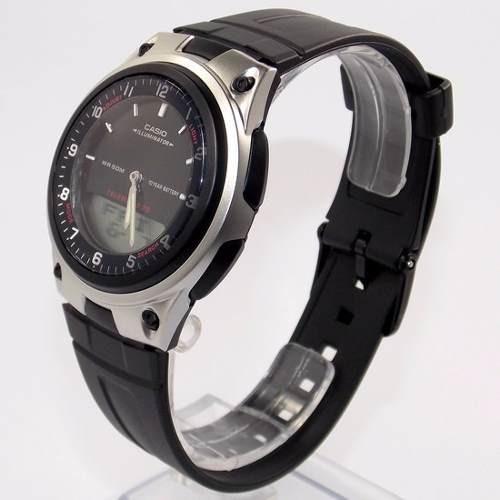 94c97ccb749 Aw-80 1av Relógio Casio Analógico Digital Agenda Telefonica - R  184 ...