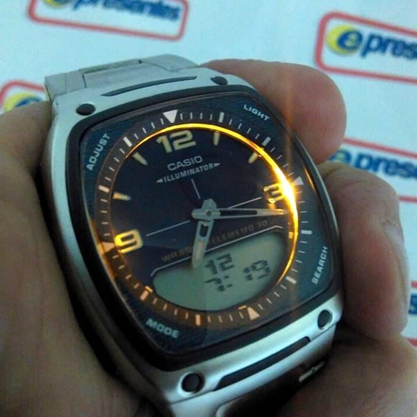 2700736e26b Aw-81d 2av Relogio Casio Anadigi 3alarmes Wr50 100%autêntico - R ...