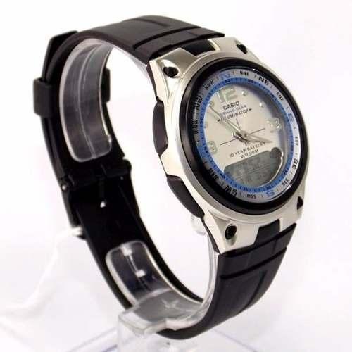 356192af7f4 Aw-82-7av Relógio Casio Fishing Gear Original Funções Pesca - R  214 ...