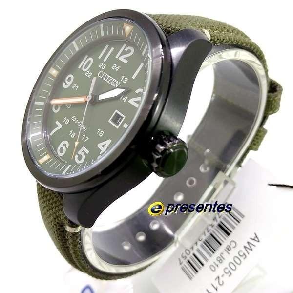 7901aec829e Aw5005-21y Relógio Masculino Citizen Eco-drive 100% Original - R ...