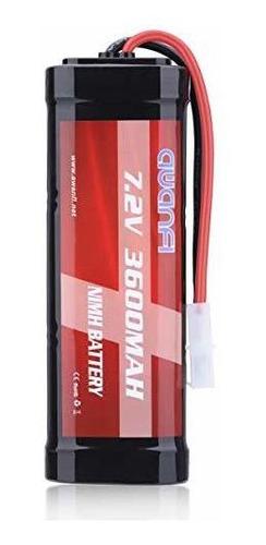 awanfi 7.2v 3600mah batería rc batería nimh de alta capacida