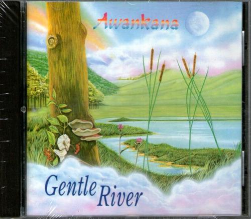 awankana - gentle river - new age - ambient - cd