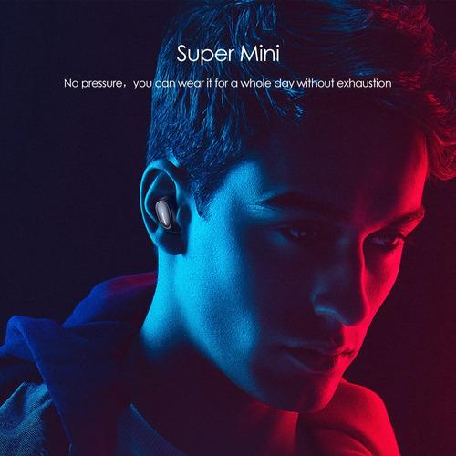 awei t6 true stereo wireless tws bt earphone moda mini