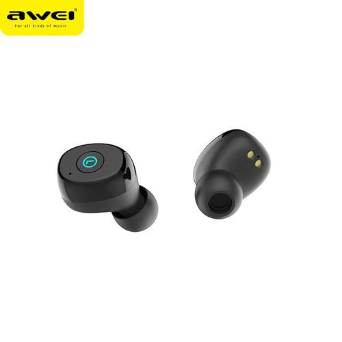 awei t85 tws auriculares inalámbricos auriculares mini