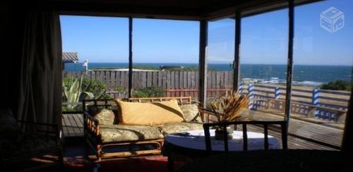 awesome seafront house, el tabo/casa frente al mar el tabo
