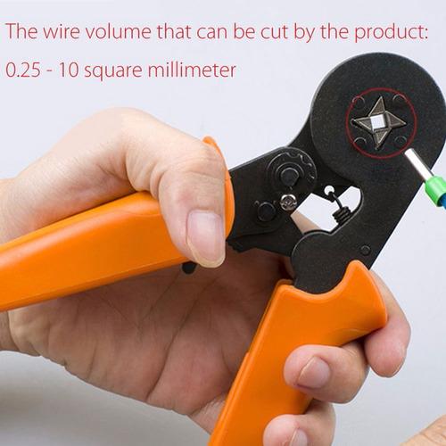 awg 23 - 7 para el extremo del cable mangas de virolas