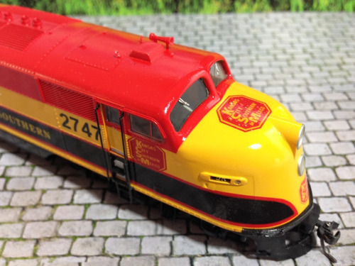 awv tren ho maquina proto e6 2747 kansas c.mexico dcc sonido