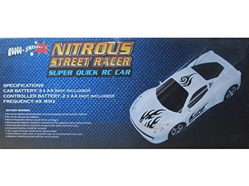 aww industries nitrous street racer súper quick r  c car co