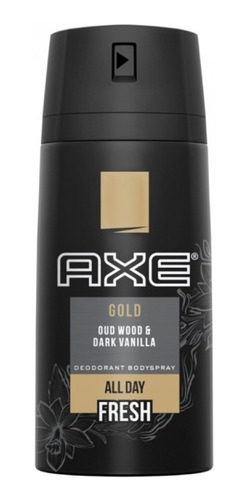 axe gold wood & vainilla bodyspray 150ml unilevercp